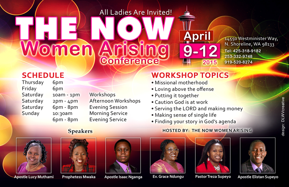 Now Women Arising - Reverse