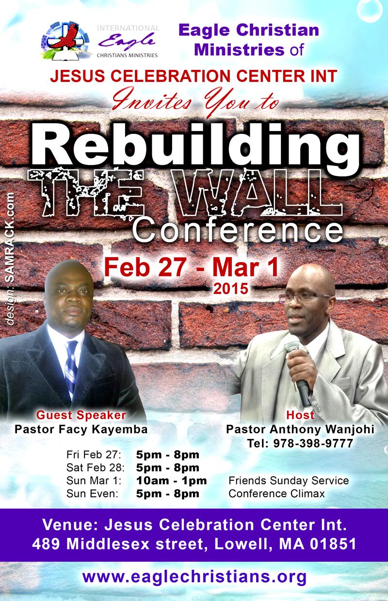 Rebuilding the walls eagles christian min
