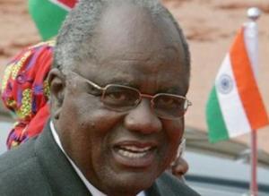 Retired Namibian President Hifikepunye Pohamba