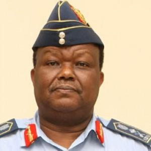 Outgoing KDF chief General Karangi