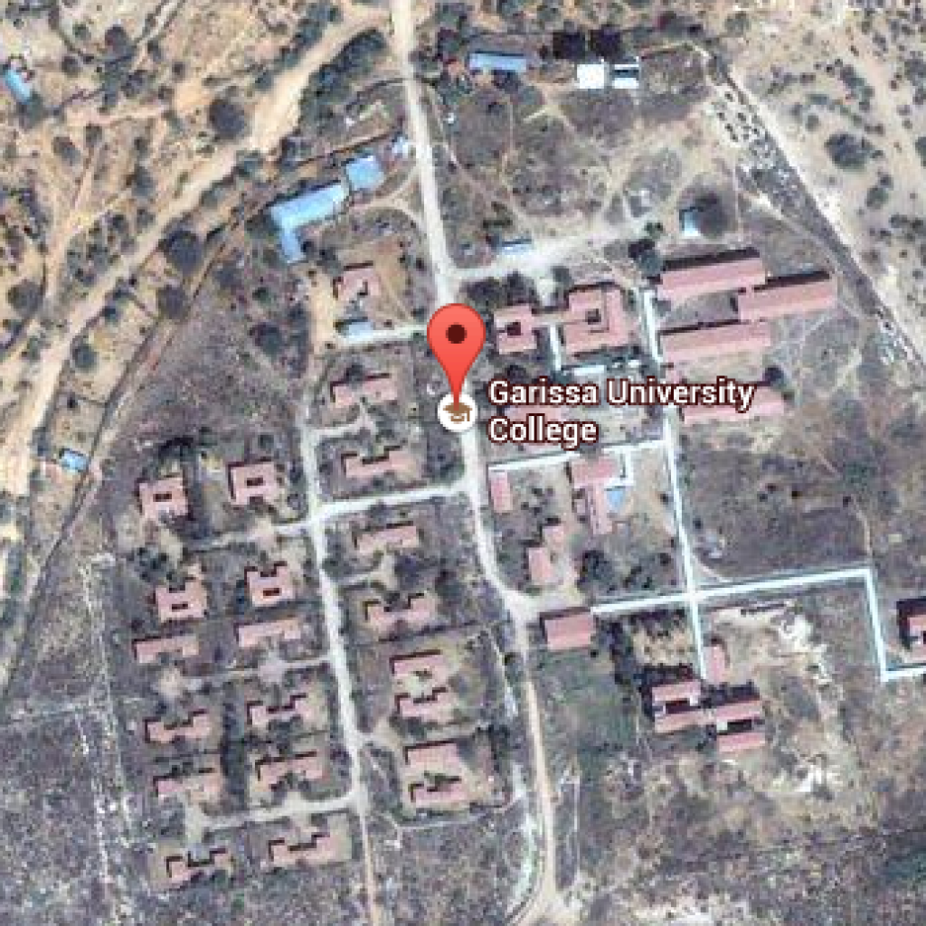 A Google Map showing the image of Garissa University. Courtesy Star Newspaper