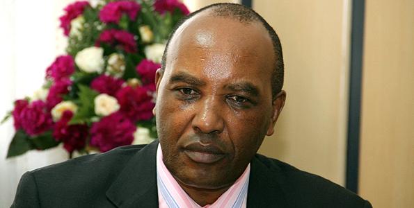 SACKED: Francis Kimemia