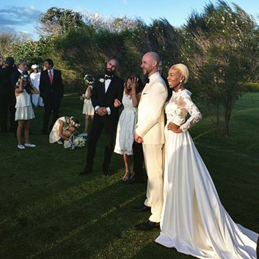 Sauti sol manager wedding