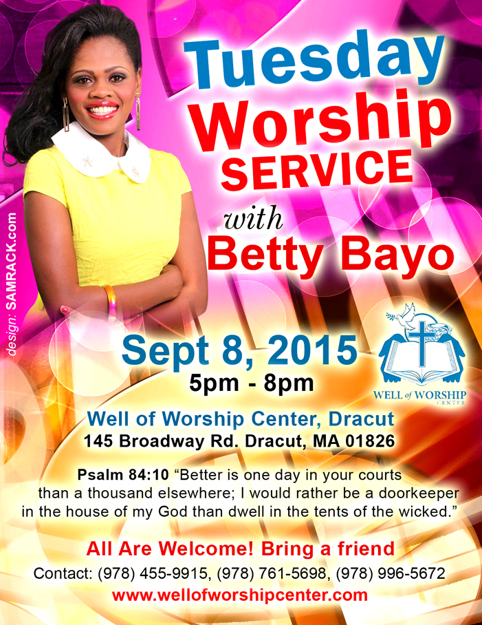 Tuesday Worship with Betty Bayo