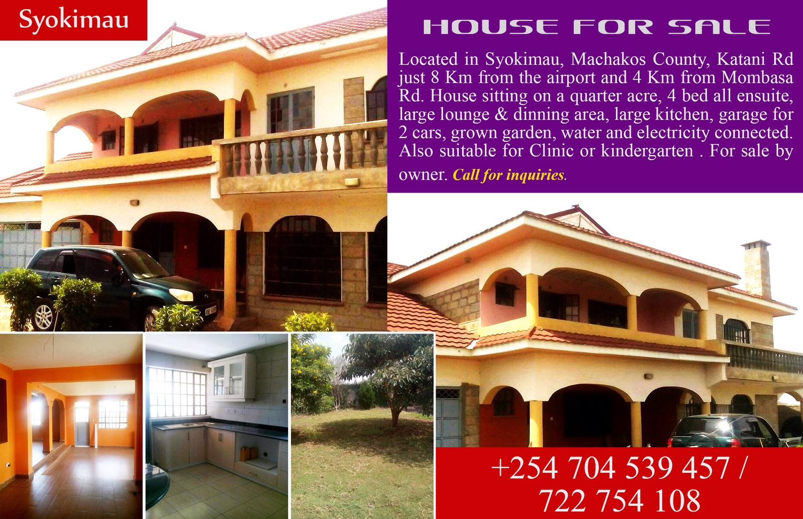 House for sale in syokimau