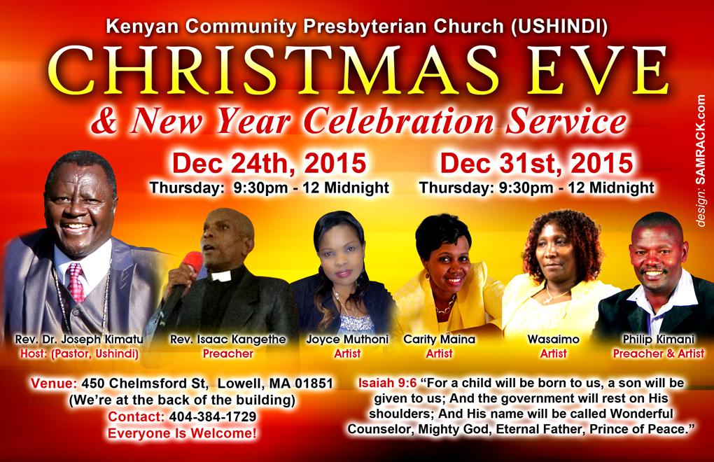 Christmas Eve & New Year Celebration