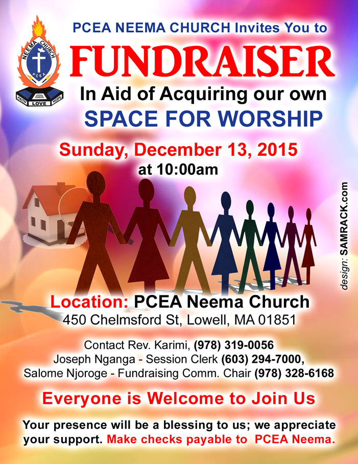 PCEA NEEMA Church Building Fundraising
