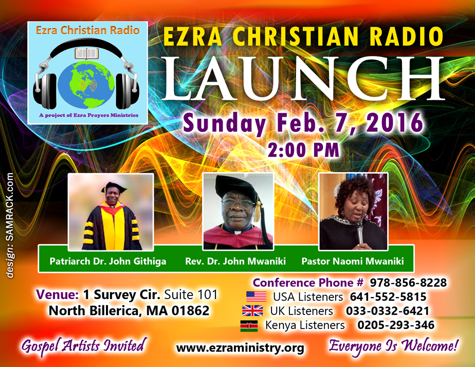 Ezra Christian Radio Launch