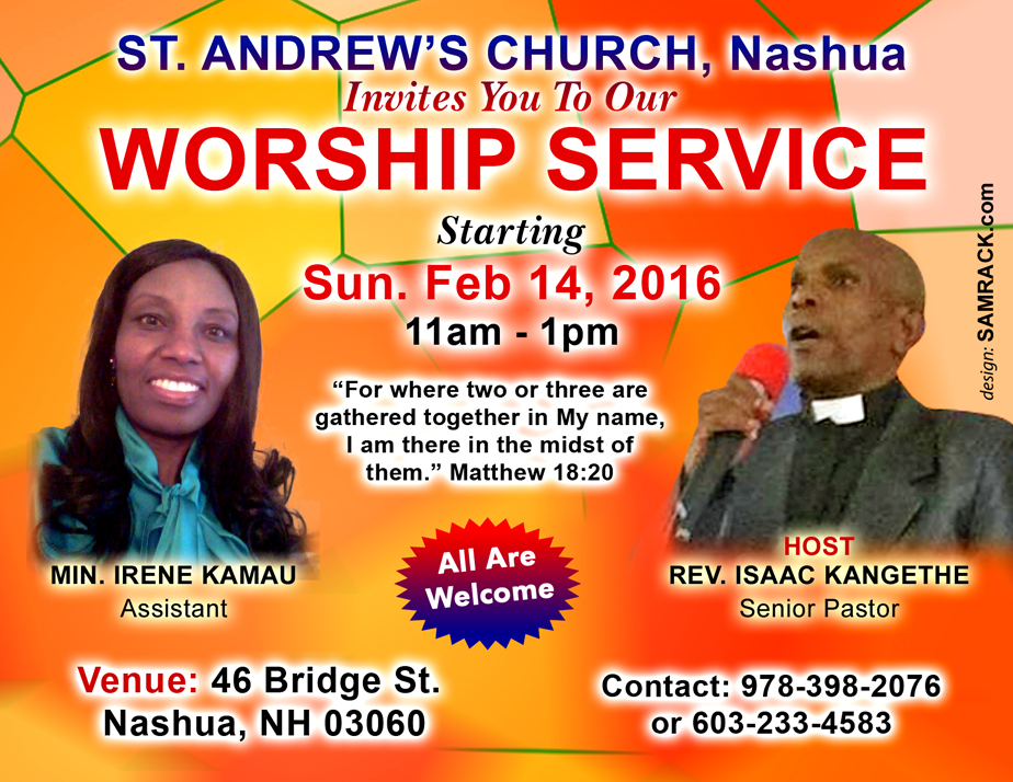 Sunday Service Feb 14-2