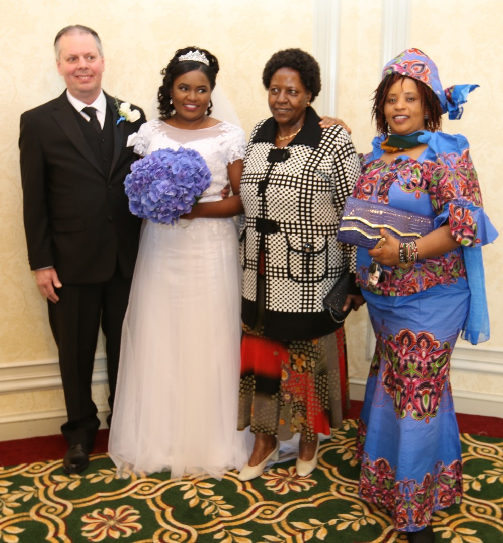 Photos/Video:Pastor Lucy Njoki Weds John J Paynter In A
