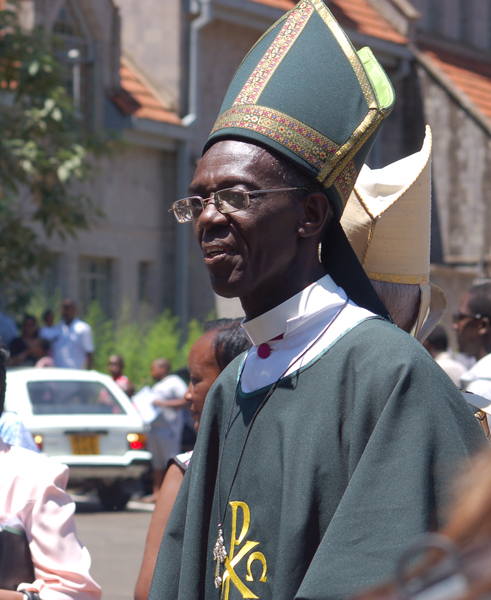 Archbishop Eliud Wabukala, the Primate of Kenya who is the chairperson of GAFCON. Photo by Fredrick Nzwili