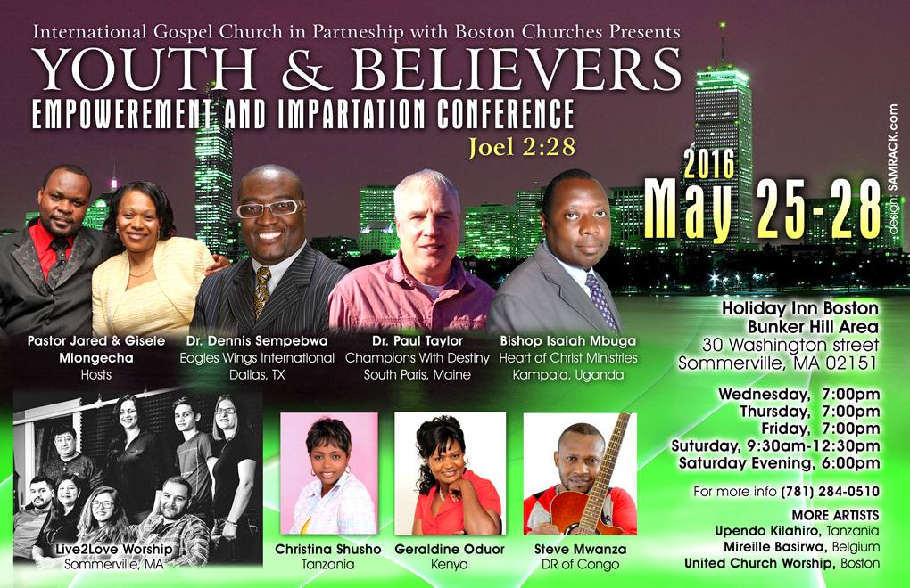 Youth & Believers Empowerment Conference - front-3