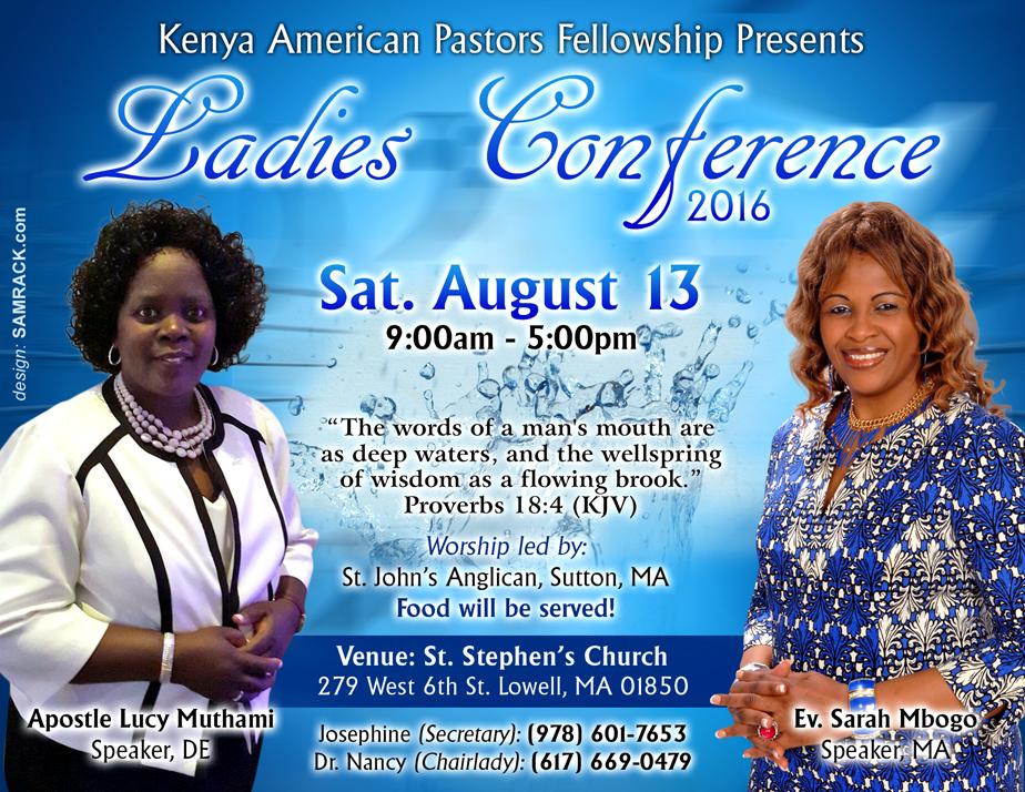 KAPF Ladies Conference