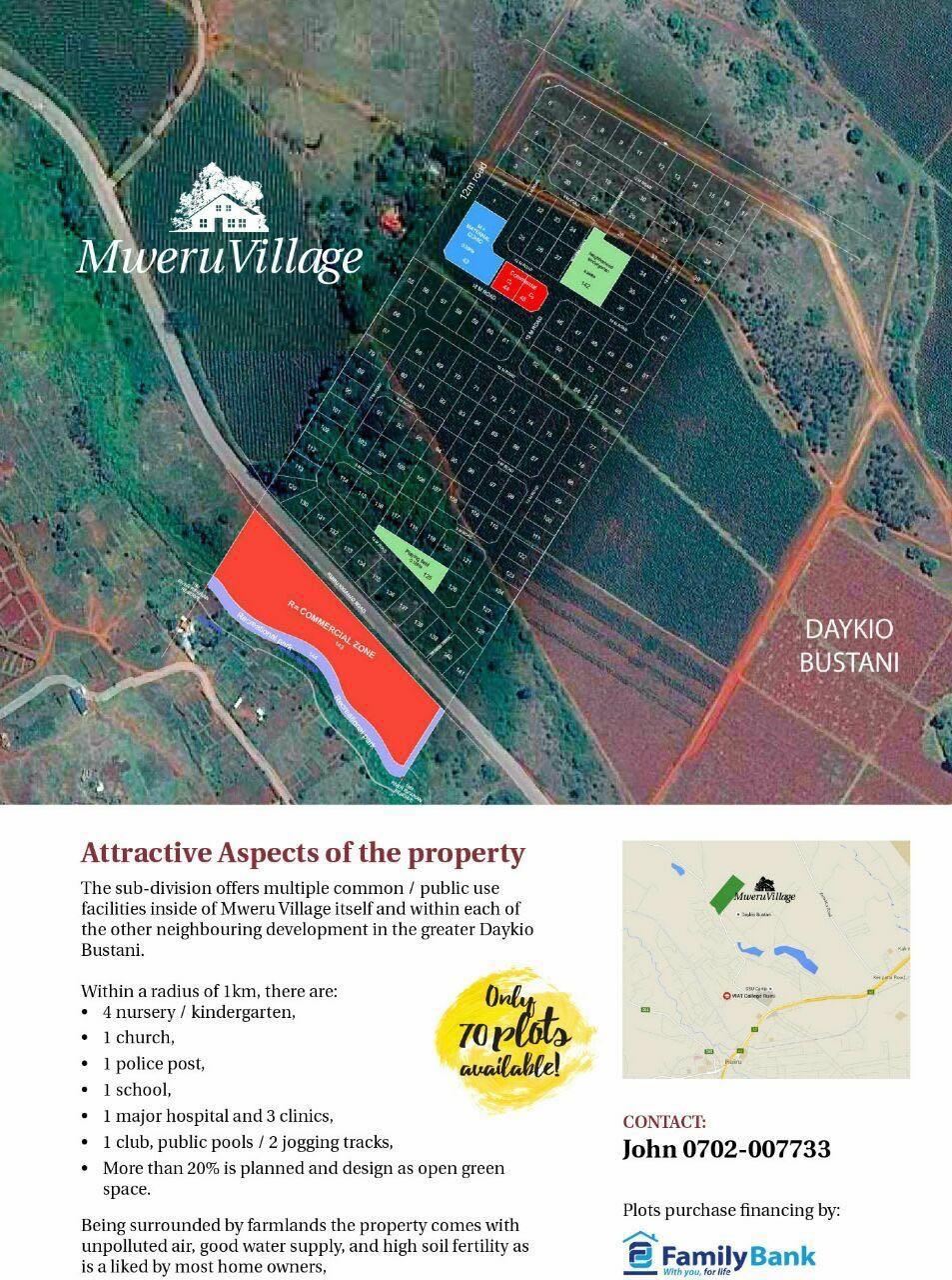 mweru village plots