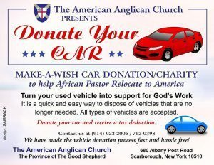 Make a wish Car Donation/Charity to help African Pastor Relocate to America  Call: 914-923-2005 | 914-762-0398
