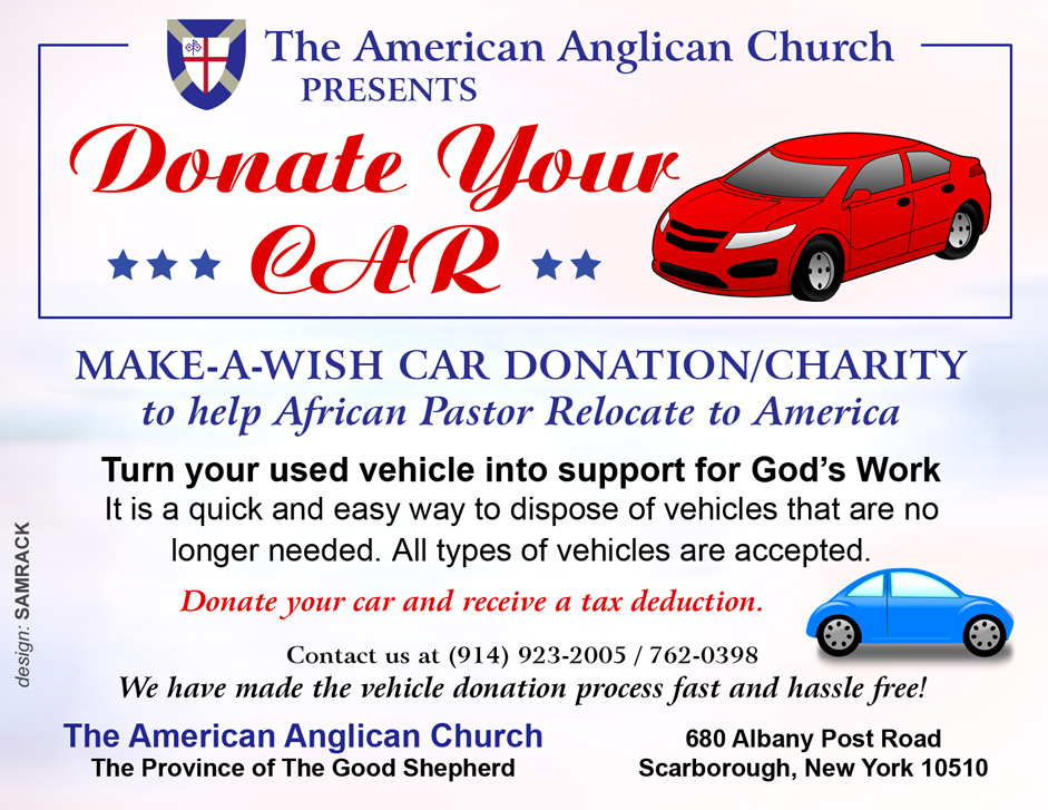 make a wish car donation charity to help african pastor relocate to america samrack media. Black Bedroom Furniture Sets. Home Design Ideas