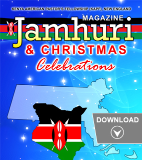 Download 2017 JAMHURI CHRISTMAS MAGAZINE by Kenya American Pastor's Fellowship (KAPF) in New England