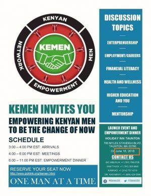 KEMEN Launch Online Registration June 16, 2018 in Taunton, Massachusetts