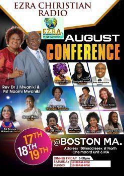 Ezra Christian Radio August Conference
