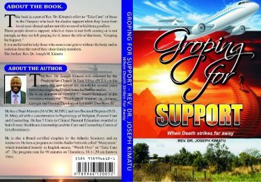 """Groping for Support"" Book Launch Sunday December 2,2018"