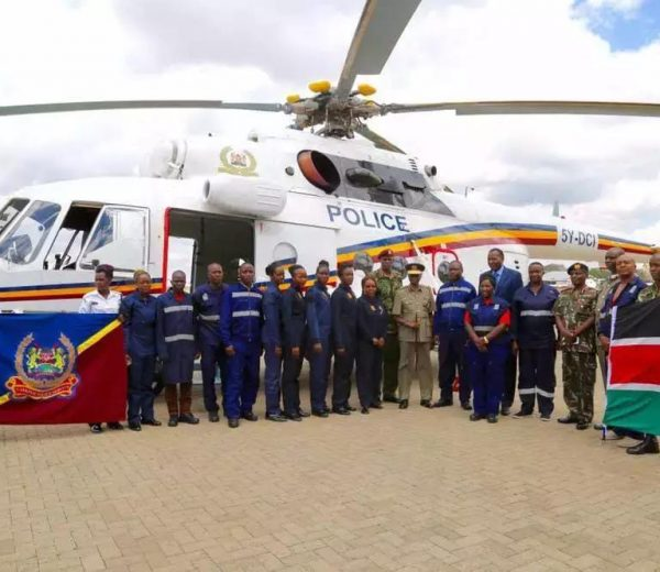 Kenya Police receive BRAND NEW helicopter from Russia (photos)