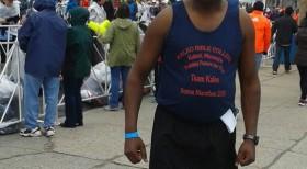 PASTOR KIHATO FINISHES IN THE 2015 BOSTON MARATHON