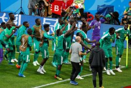 Poland's mishaps help Senegal claim first African win