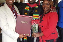 Martin Njoroge, graduates at Harvard University  President Obama's Alma Mater(Photos)