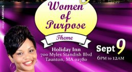 """2017 Boston Queen's Night """"Women of Purpose""""  Sept 9 2017 6Pm to 12Am"""