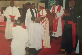 Photos/Video:Kenyan-American,New England Pastor ordained in Kenya