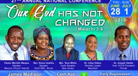 KCFA Invites You to 27th Annual National Conference, June 28 – July 1st