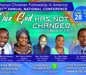 KCFA Invites You to 27th Annual National Conference, June 28 - July 1st