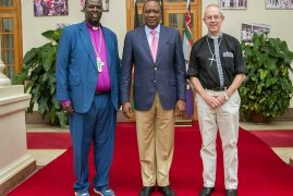 PRESIDENT KENYATTA MEETS ARCHBISHOP OF CANTERBURY