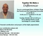 Together We can make a difference Maina Thige Fundraiser Oct 15th 2017 @3PM St Michael Church Lowell,MA