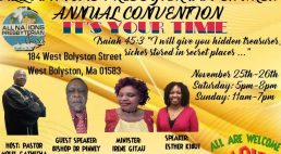 All Nations Presbyterian Church Annual Convention Nov 25th-26th 2017