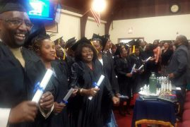 Joyful celebrations at PCEA NEEMA lowell as 47 members receive their Theological Education by Extension (T.E.E )Diplomas