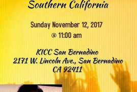 Invitation: Rev Dr. Ruth Maina as Bishop of K.I.C.C Churches in Southern,California Nov.12th 2017 @ 11AM