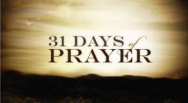 30-DAY PRAYER FOCUS