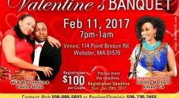 Invitation: Valentines BANQUET Feb 11, 2017 (St John's Church Sutton Couples)