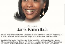 Janet Ikua's memorial service: Family members pay tribute to former NTV anchor