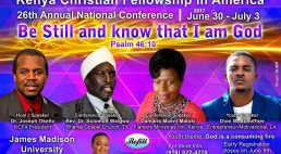 KCFA 26th Annual National Conference June 30th to July 3rd 2017