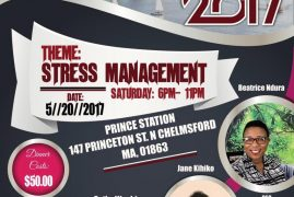 Boston Weekend of Empowerment :Stress Management Sat May 20th 6Pm to 11Pm @147 Princeton St N.Chelmsford,MA