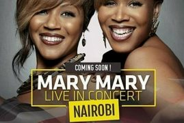 Mary Mary to perform in Nairobi,Kenya