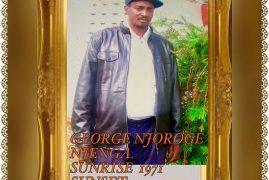 TRANSITION/DEATH ANNOUNCEMENT of George Njoroge Njenga brother to John Njenga ( Wa media) of St. Stephens Church Lowell,Massachusetts