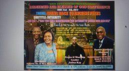 Redeemed & Blessed of God Conference June 2-4th 2017 @Jesus Celebration Center(JCC)Church