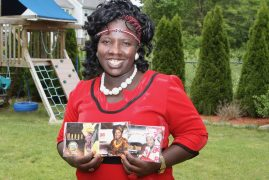Meet  Doreen Otipo  Kenyan Diaspora artist from West Pokot