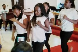 "St Pauls Community Church Lawrence,Massachusetts ""All Nations Talents Day"" Youth Dance Group {Video}"