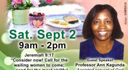 "KAPF'S LADIES FELLOWSHIP ""BREAKFAST AND PRAYER"" SEPT 2 2017 9AM to 2PM"