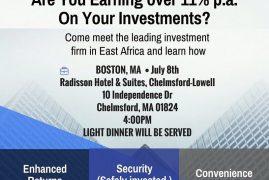 BRITAM BOSTON,MA EVENT SAT JULY 8 2017 TIME : 4PM @RADISSON HOTEL CHELMSFORD|LOWELL