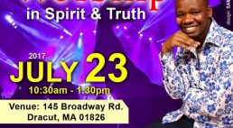 Well of Worship Center Special Sunday Worship with Min.Paul Mwai July 23rd 2017 @10:30Am  @ 145 Broadway Road Dracut,Massachusetts
